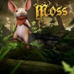 Moss VR game logo.